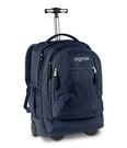 JANSPORT 原廠二段式拉桿電腦背包 可登機 ~ 深藍 (JS43743)(免郵大放送)