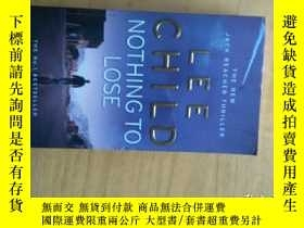 二手書博民逛書店LEE罕見CHILD NOTHING TO LOSEY13895