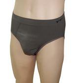 【皇家竹炭】竹炭纖維男用三角一體成型褲 XL