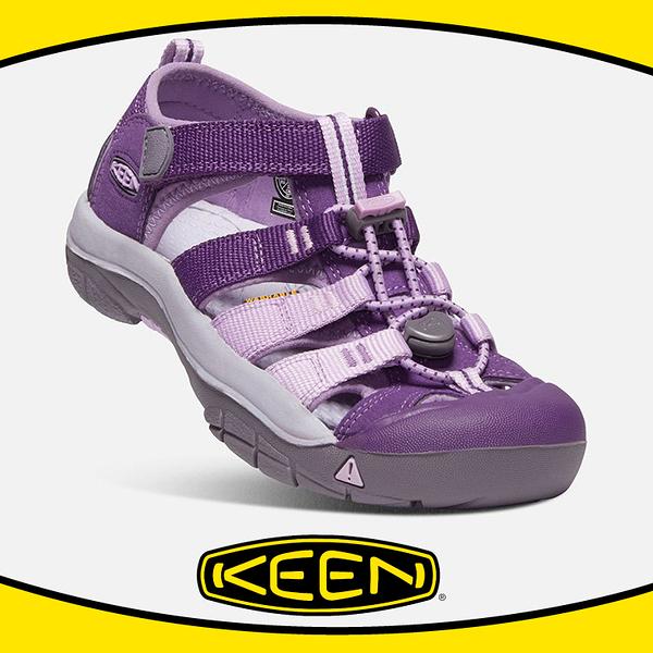 【KEEN 美國 童 護趾涼鞋《紫/粉紫》】1020354/ 大童款/水陸兩用/運動涼鞋多功能鞋/低筒鞋