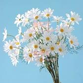 ins假花花束小雛菊仿真花束塑料客廳餐桌攝影拍照裝飾道具【桃可可服飾】