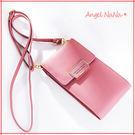 熱賣長夾(現貨)-簡約大牌2way多功能斜背包手機包女皮夾豎款  (SMA0243) AngelNaNa