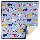 【日本製】【+ima】今治毛巾手帕 貓咪圖案 SD-4099 - 日本製 今治毛巾
