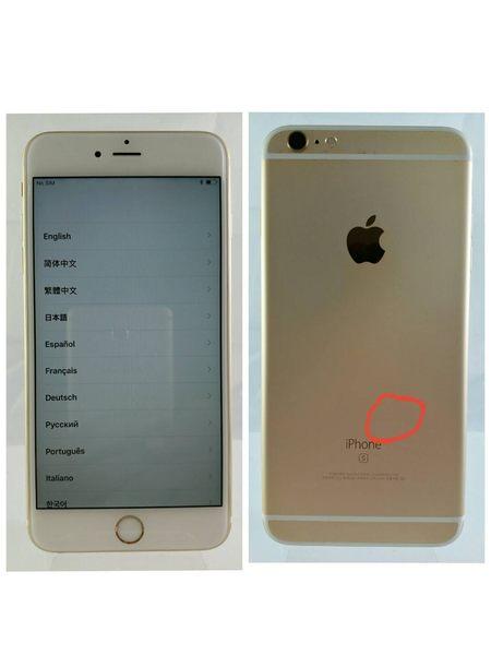 ☆胖達3C☆#17 APPLE IPHONE 6S PLUS I6S+ 16G 金 90%新 A1687 高價收購手機
