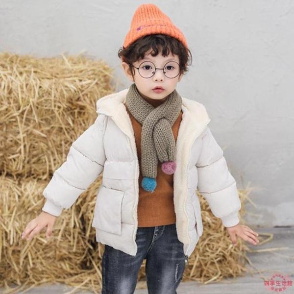 女童棉服 寶寶棉衣兒童外套男女童加厚棉襖加絨冬裝羽絨棉服幼兒秋冬衣服【快速出貨】
