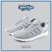 Adidas ZX Flux ADV 灰白 網布 經典 輕量 基本 復古慢跑鞋 男 S79006 ☆SP☆