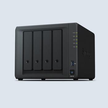Synology DiskStation DS418 個人及家庭4bays網路儲存NAS【無內建硬碟】