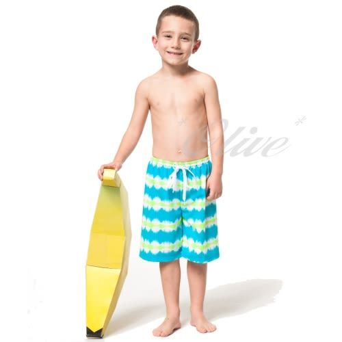 ☆小薇的店台灣製沙兒斯品牌【亮麗波紋款式】 男童海灘泳褲特價590元NO.B65501(12-16)