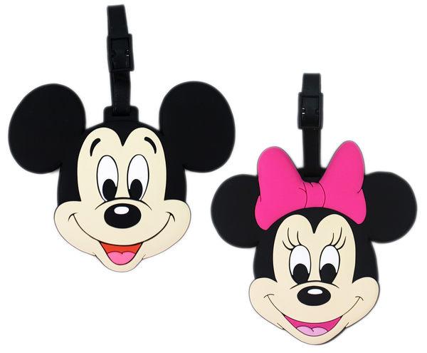 【卡漫城】 米奇 米妮 名牌套 二款選一 ㊣版 Mickey 米老鼠 Minnie 行李箱 書包 識別 姓名 吊牌 掛牌