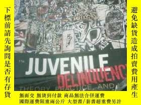 二手書博民逛書店Juvenile罕見Delinquency: Theory, P