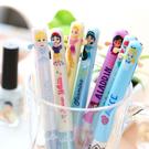 日本進口 正版迪士尼雙色造型筆(公主王子款) 原子筆 迪士尼公主 日貨 愛麗絲 小美人魚  樂佩