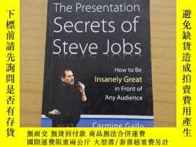 二手書博民逛書店The罕見Presentation Secrets of Steve Jobs:How to Be Insanel
