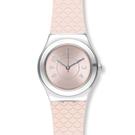 Swatch  優雅柔美菱格紋石英腕表   YLZ101