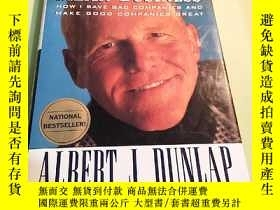 二手書博民逛書店Albert罕見J.Dunlap:Mean Business :