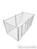 NMS 狗狗圍欄室內小型犬寵物狗籠子中型犬狗柵欄大型犬金毛護欄隔離門 生活樂事館