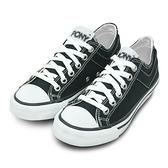 LIKA夢 PONY經典帆布鞋--Shooter--黑--73U1SH61BK-- 男