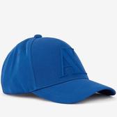 A/X 阿瑪尼橡膠標誌藍色帽子