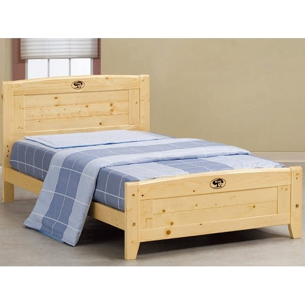 床架 床台 AT-582-3 北歐松木3.5尺單人床 (不含床墊) 【大眾家居舘】