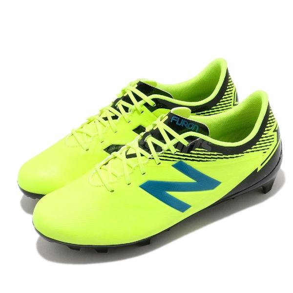 【五折特賣】New Balance 足球鞋 Furon 3.0 Dispatch FG Wide 黃 黑 寬楦 女鞋 運動鞋 【ACS】 JSFDFHM3W