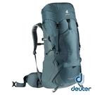 【德國 deuter】AIRCONTACT LITE 拔熱式透氣背包50+10L『深灰藍』3340521 大背包 背包客 渡假打工