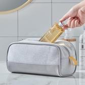 手拿包大容量旅行時尚化妝包 出差旅游用品收納袋便攜手拿洗漱包 嬡孕哺