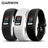 Garmin Vivofit 4 智慧手環 彩色螢幕 一年免充電大-黑