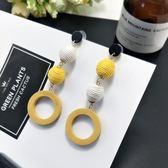 流蘇耳環韓國百搭森系耳飾品甜美個性吊墜簡約耳墜長款氣質耳釘女