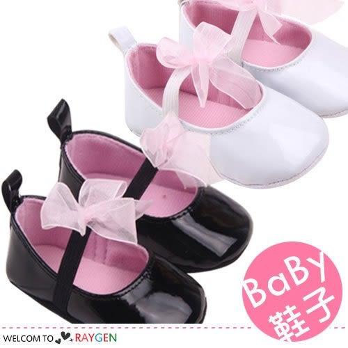 時尚蝴蝶結造型軟底公主鞋 寶寶學步鞋