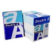 促銷價 【永昌文具】Double A A4 80磅 影印紙  ( 20包入 / 4箱  ) (勿選超商取貨)(下超商單也會請你取消)