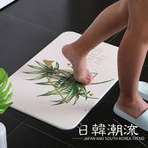 廠家直銷硅藻泥腳墊浴室吸水速干地墊廚房衛生間天然硅藻土腳墊