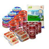 【台糖優食】六六大順  (加塩沙士/白米/豬肉醬/鮪魚片/三明治鮪魚/紅燒鰻魚)