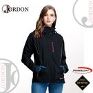 【JORDON 橋登 女 GORE-TEX+Primaloft二合一機能外套 《黑色》】1092/防水/夾克