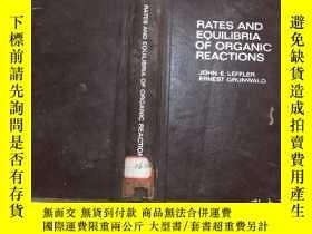 二手書博民逛書店RATES罕見AND EQUILIBRIA OF ORGANIC