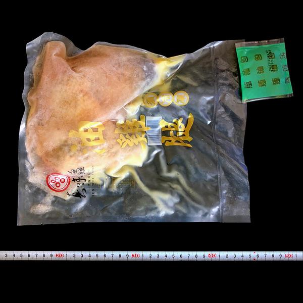 ㊣盅龐水產◇油雞腿(加蔥油包)◇淨重350g±5%/包◇零$270元/包◇肉質鮮嫩多汁 超大隻油雞腿