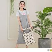 《DA6278-》休閒感打褶口袋設計連身吊帶裙 OB嚴選