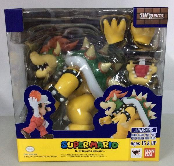 Poco+玩具部 全新 魂商店限定 SHF Super Mario Bowser 超級瑪利歐 大魔王 庫巴