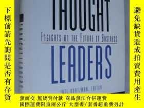 二手書博民逛書店Thought罕見leaders:Insights on the
