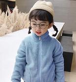 女童装 女童外套2020年春裝新款男童加絨加厚寶寶上衣兒童裝春款洋氣【快速出貨八折搶購】