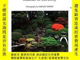 二手書博民逛書店The罕見Japanese Garden: Islands of