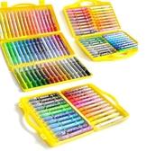 兒童油畫棒水溶性彩繪棒蠟筆學生用可水洗炫彩油化棒套裝