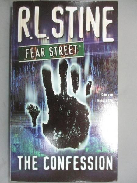 【書寶二手書T7/原文小說_OMO】The Confession_Stine, R. L.