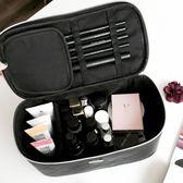 化妝包 韓國手提旅行簡約防水化妝包大容量便攜化妝品收納包 巴黎春天