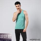 【MORINOxLUCAS設計師聯名】經典素色運動背心 綠色