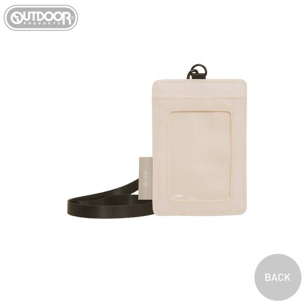 【OUTDOOR】LINE聯名款-派對卡片套-奶茶色 ODBF20D11BE