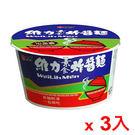 維力炸醬碗麵-素食90g*3碗【愛買】
