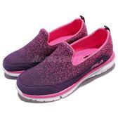 Fila 休閒鞋 C306R 粉紅 紫 編織鞋面 懶人鞋 免鞋帶 女鞋【PUMP306】 5C306R922
