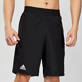 Adidas 男款 黑色 運動 短褲 DU0877