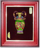 鹿港窯-交趾陶居家開運裝飾壁飾~M平安如意
