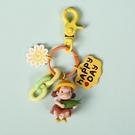 鑰匙圈 龍貓鑰匙扣韓國可愛公仔鑰匙鍊掛飾書包