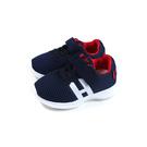 小男生鞋 休閒運動鞋 魔鬼氈 網布 深藍/紅 小童 童鞋 B2027 no173